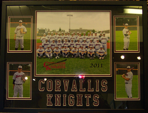 Custom Mat for Corvallis Knights
