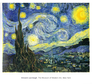 Poster of Starry Night